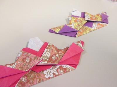 ハート 折り紙 折り紙 ひな人形 折り方 : hakomachi.com
