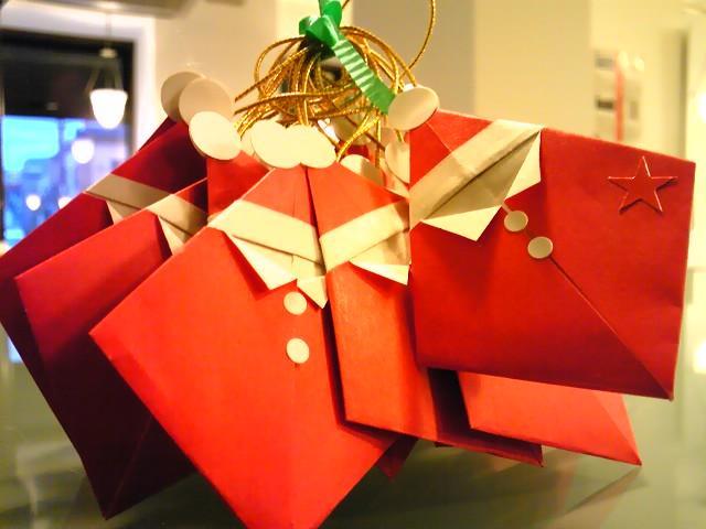 クリスマス 折り紙 : サンタ 折り紙 : divulgando.net